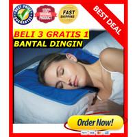 ANTI PANAS / BANTAL DINGIN Kesehatan / Bantal Memory Foam Cooling Gel