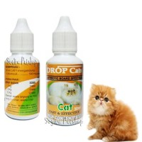 ANTIBIOTIK KUCING OBAT NGOROK DEMAM FLU PILEK DROP CAT