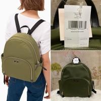 tas Kate spade large backpack dawn sapling green original nylon