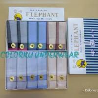 PROMO SAPU TANGAN ELEPHANT PTH ISI 6