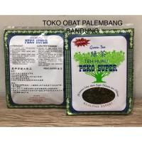 TEH HIJAU / GREEN TEA PEKO SUPER KUALITAS EXPORT 90 GRAM
