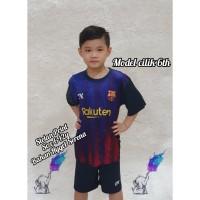 #CCSs Baju Bola Stelan Anak Print .Ready SML - Nevi