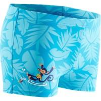 Celana renang anak - BLUE BABY BOY'S MONKEY PRINT BOXER SWIM SHORTS