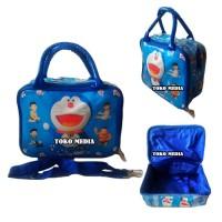 Tas Travel Bag Koper Anak uk. MINI (Selempang + Tenteng) - DORAEMON