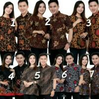 couple batik - baju cowok baju cewek - seragam baju pesta