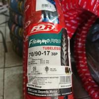 Ban TUBELESS FDR Flemmo Pro 70/90 ring 17 ban motor bebek vega cs1 fu