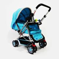 Stroller Bayi Labeille Classic | Stoller Bayi - Biru Muda