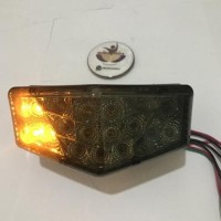 aksesoris motor Lampu stop/ lampu belakang rx king led plus lampu sen