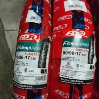 Paket ban TUBELESS Motor Bebek FDR Flemmo Pro 70 90 & 80 90 ring 17