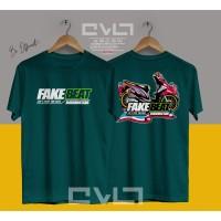 Kaos / Baju Motor Thailook Fake Honda Beat Indonesia Beat Fi Injection