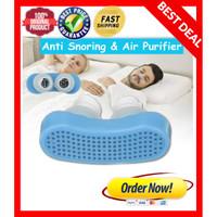 Alat 2 in 1 Anti ngorok Snoring / Anti dengkur Air purifier Travelling