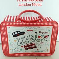 Travel bag tas travel kanvas koper kotak renang anak London Mobil
