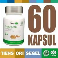 zinc capsules tiens tianshi isi 60 kapsul peninggi daya ingat otak imu