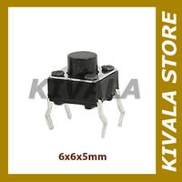 Tactile switch tact saklar 6x6x5mm on off DIP arduino