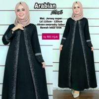 dress wanita muslim murah gamis hitam murah real pict - arabian maxi