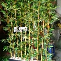Partisi Bambu Pohon Hias Plastik Tinggi 1,5 M