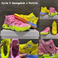 sepatu basket nike kyrie 5 spongebob x patrick grade original