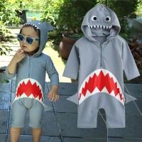 Baju renang anak cowo 1thn-5thn shark