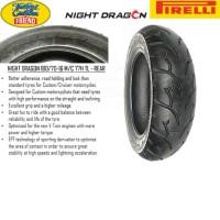 Ban belakang Pirelli Night Dragon ukuran 180/70 - 16
