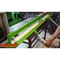 Alat Tekuk Plat Manual Lebar 1.5m 150cm untuk Bending Plat 2mm