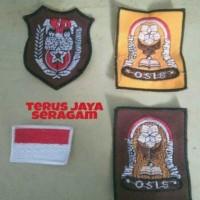 Badge / Bet / Logo OSIS Bordir SD SMP SMA