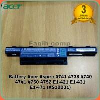 Baterai Original Laptop Acer Aspire 4738 4739 4741 4750 4752 E1-421