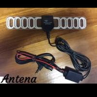 Antenna TV Mobil Analog Digital Kupu-Kupu - Nur Audio