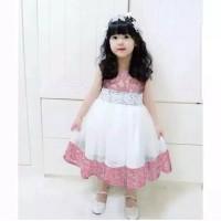 dress anak 2-5 th/baju ulang tahun/pesta/princes/kondangn/model/murah