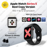 Smartwatch IWO 12 11 Apple Watch Series 5 iWatch Copy Jam TanganPintar