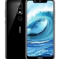 Nokia 5.1 Plus Black BNIB Resmi 3/32gb
