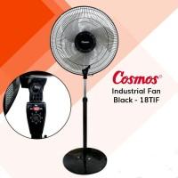 COSMOS Industrial Stand Fan 18TIF Kipas Angin Berdiri Besi 18 inch