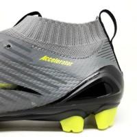 Sepatu Bola Specs Acc Infinity FG - Dark Granite grey Black Original