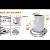 Usb Cup Warmer Penghangat Gelas Kopi Teh Pemanas