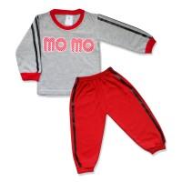 WakaKids Baju Anak Laki Laki Tangan Panjang Jogger Momo 2858