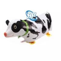 Balon foil air walker / airwalker animal / hewan / binatang lucu sapi
