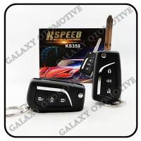 Alarm Mobil K-Speed Remote Kunci Lipat