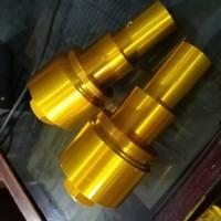 peninggi shock depan GOLD klx bf klx new