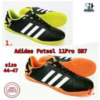 Free Bonus!! Sepatu Futsal Pria Adidas 11 Pro SB7 size JUMBO 43-47 !!