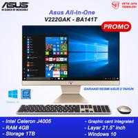ASUS PC AIO V222GAK-BA141T J4005 4GB 1TB 21 Windows 10 MURAH