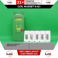 Authentic ARTERY NUGGET AIO Replacement Coil 0.4 Ohm / 1.4 Ohm