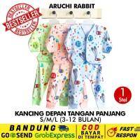 SML/XL/XXL-1 Pcs Stelan Panjang Aruchi Baju Piyama Anak Bayi Rabbit