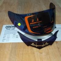 Paket Flat visor + TOPost + Spoiler Helm KYT RC7 R10 K2R K2RIDER