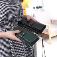 W17 Dompet Wanita Korea Haseyo Women Long Wallet
