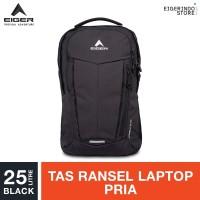 Eiger Lorentz Laptop Backpack 25L - Black