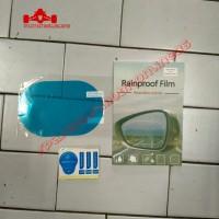 Antifog Spion Mobil Motor Rainproof Film Oval 10x15 cm ORI