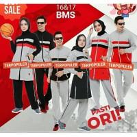 Couple Setelan Baju Olahraga Muslimah Believe BMS 16 & 17