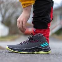 """SALE"""" Adidas Dame 4 Premium Original / Sepatu Basket Pria Wanita"""