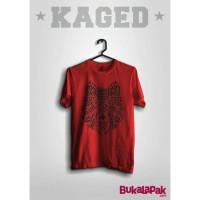 Kaos Baju Serigala Triba Animall 01 Merah Putih