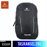 TAS RANSEL EIGER ALPACA DAYPACK 20L - BLACK
