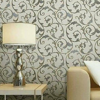 Wallpaper Dinding Minimalis - Wallpaper Sticker B-5213 10m x 45cm